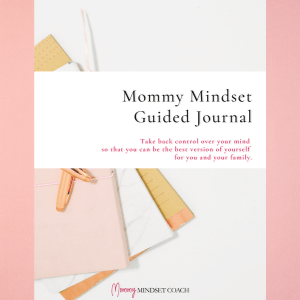 cover of a journal for moms